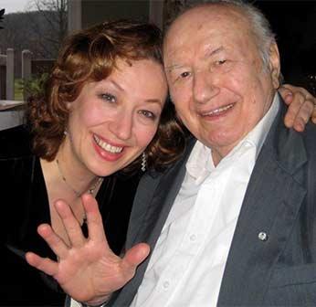 Marianna Vagnini and dad